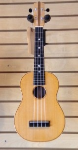 Handmade Concert Uke @ Blackbird - Walnut and Spruce - SOLD