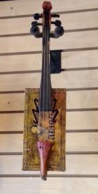 Little Cameo Cigar Box Folk Fiddle - SOLD