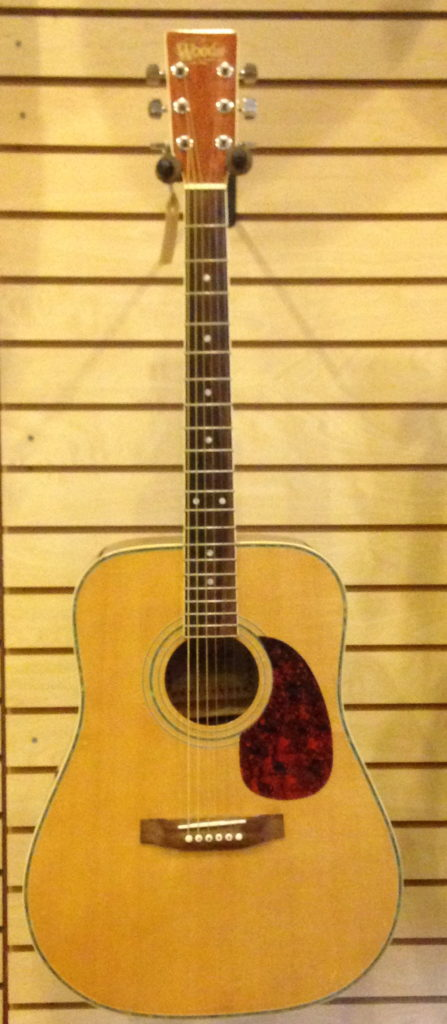 Woods Acoustic Guitar