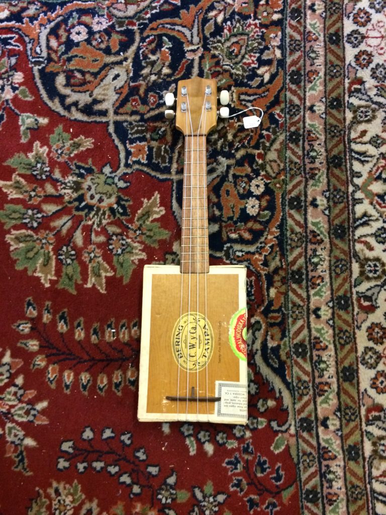 Cigar Box Ukulele Made at Blackbird - $150